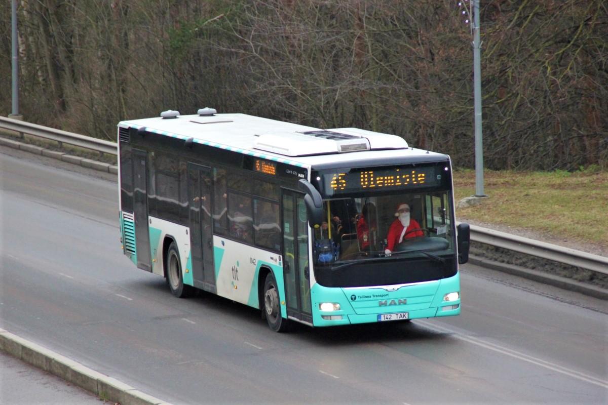Tallinn, MAN A78 Lion's City LE EL293 № 1142