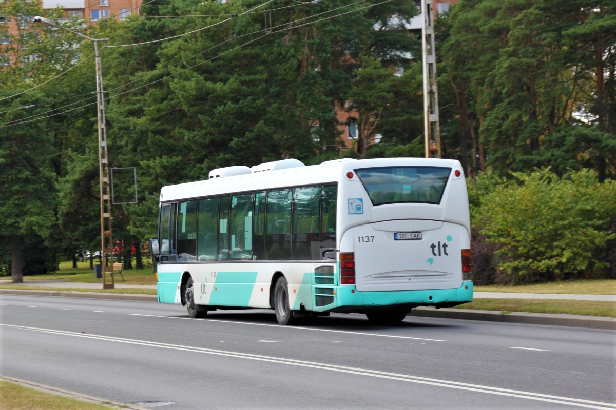 Tallinn, Scania OmniLink CL94UB № 1137