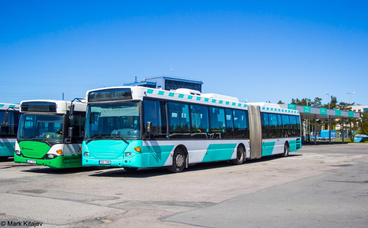 Tallinn, Scania OmniLink CL94UA 6X2LB № 3263
