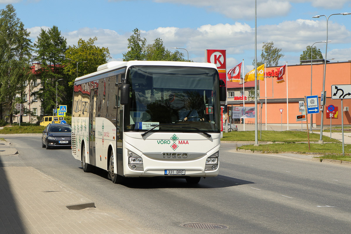 Võru, IVECO Crossway Line 10.8M № 331 BRF