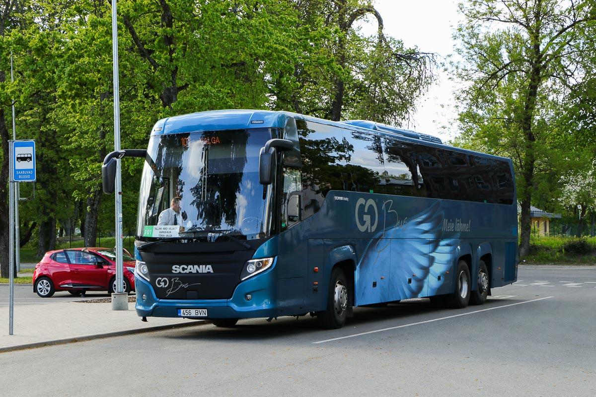 Tallinn, Scania Touring HD (Higer A80T) № 456 BVN