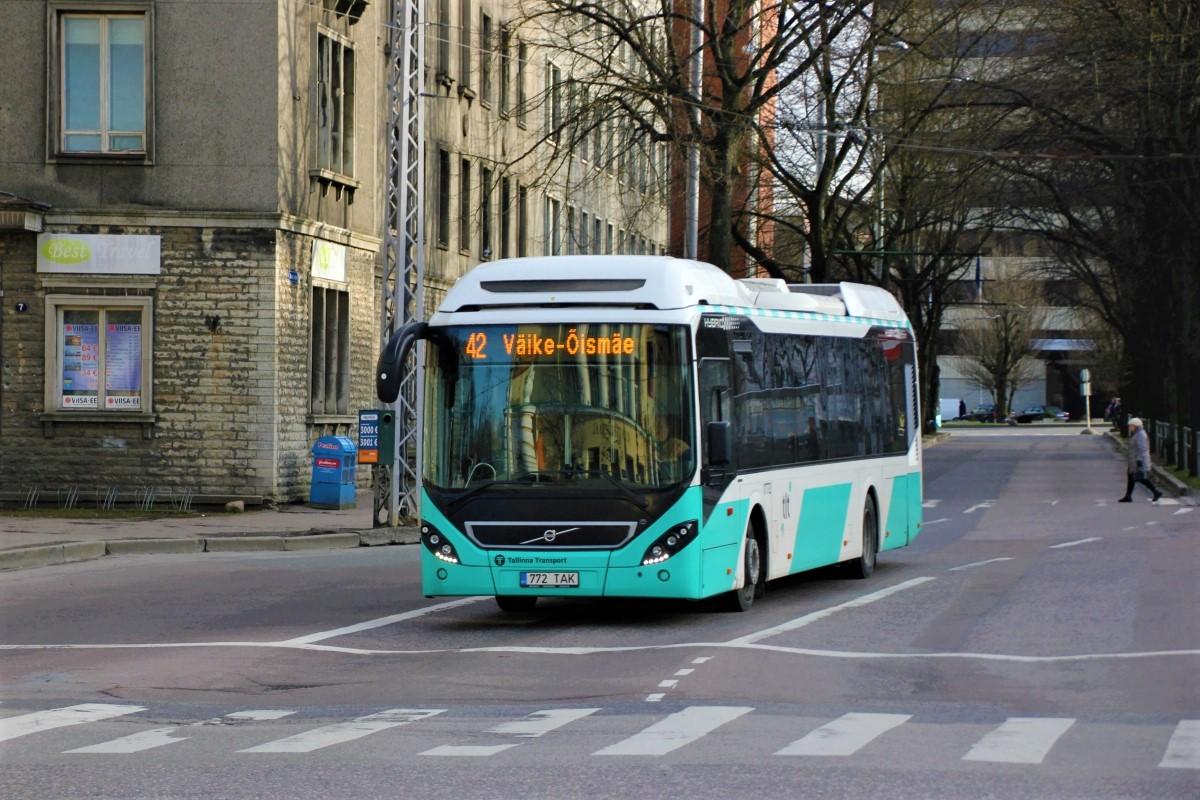 Tallinn, Volvo 7900 Hybrid № 1772
