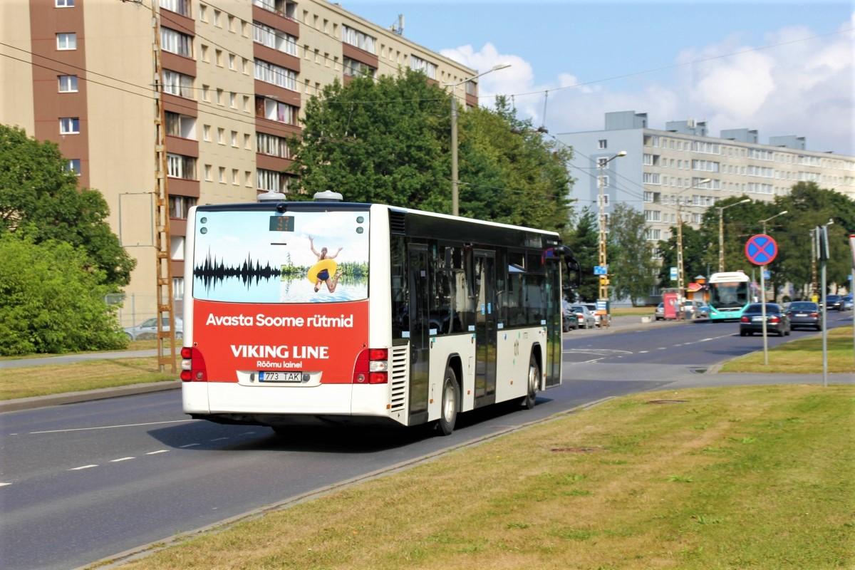 Tallinn, MAN A78 Lion's City LE EL293 № 1773
