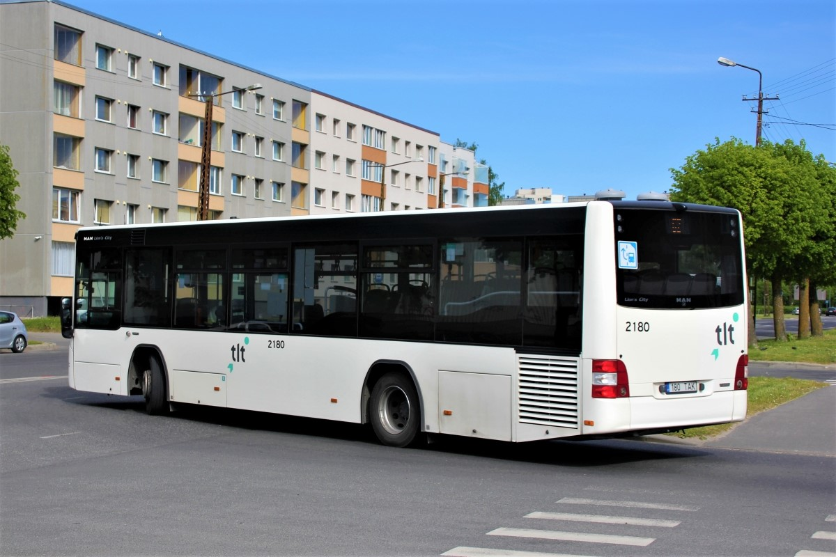Tallinn, MAN A78 Lion's City LE EL293 № 2180