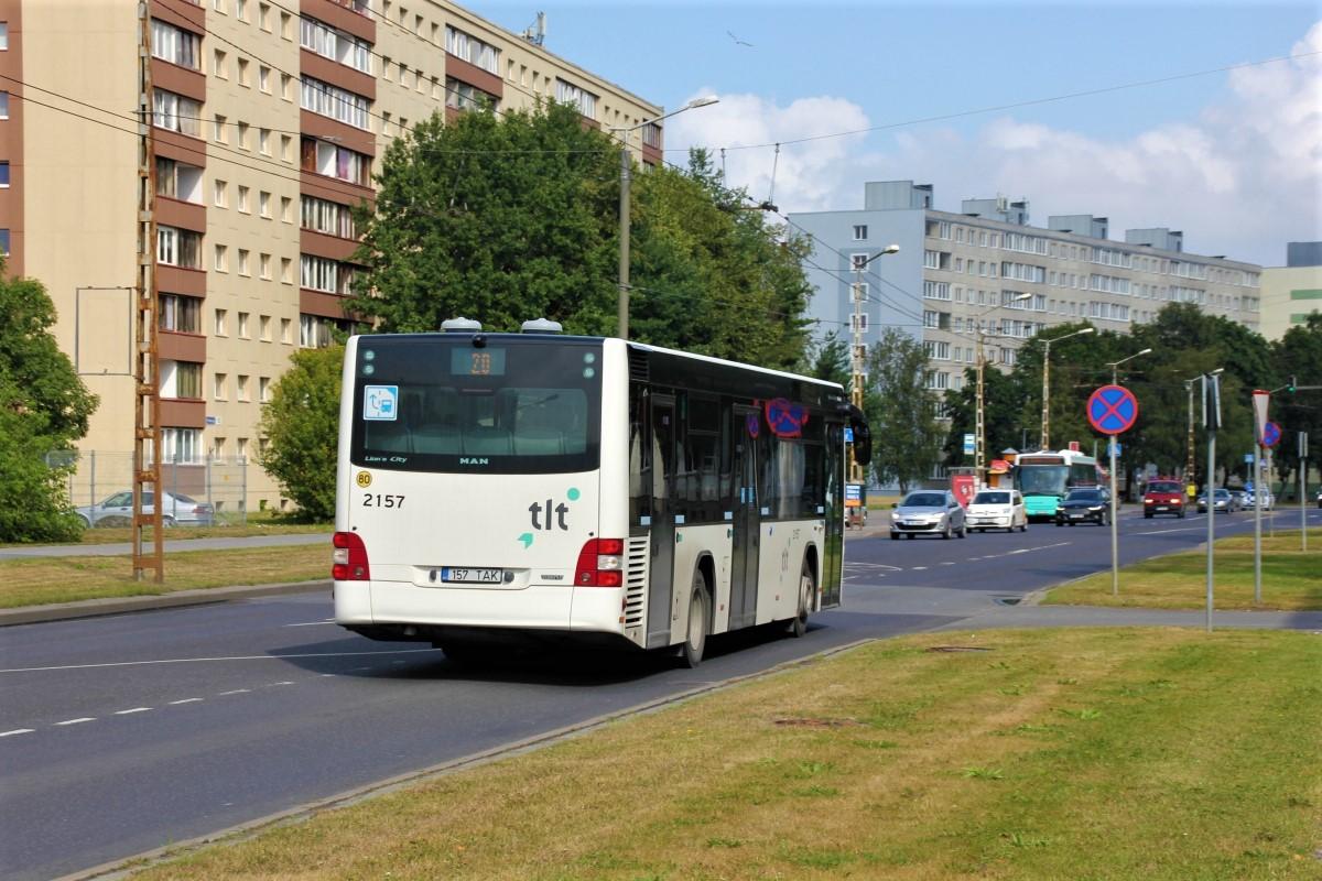 Tallinn, MAN A78 Lion's City LE EL293 № 2157