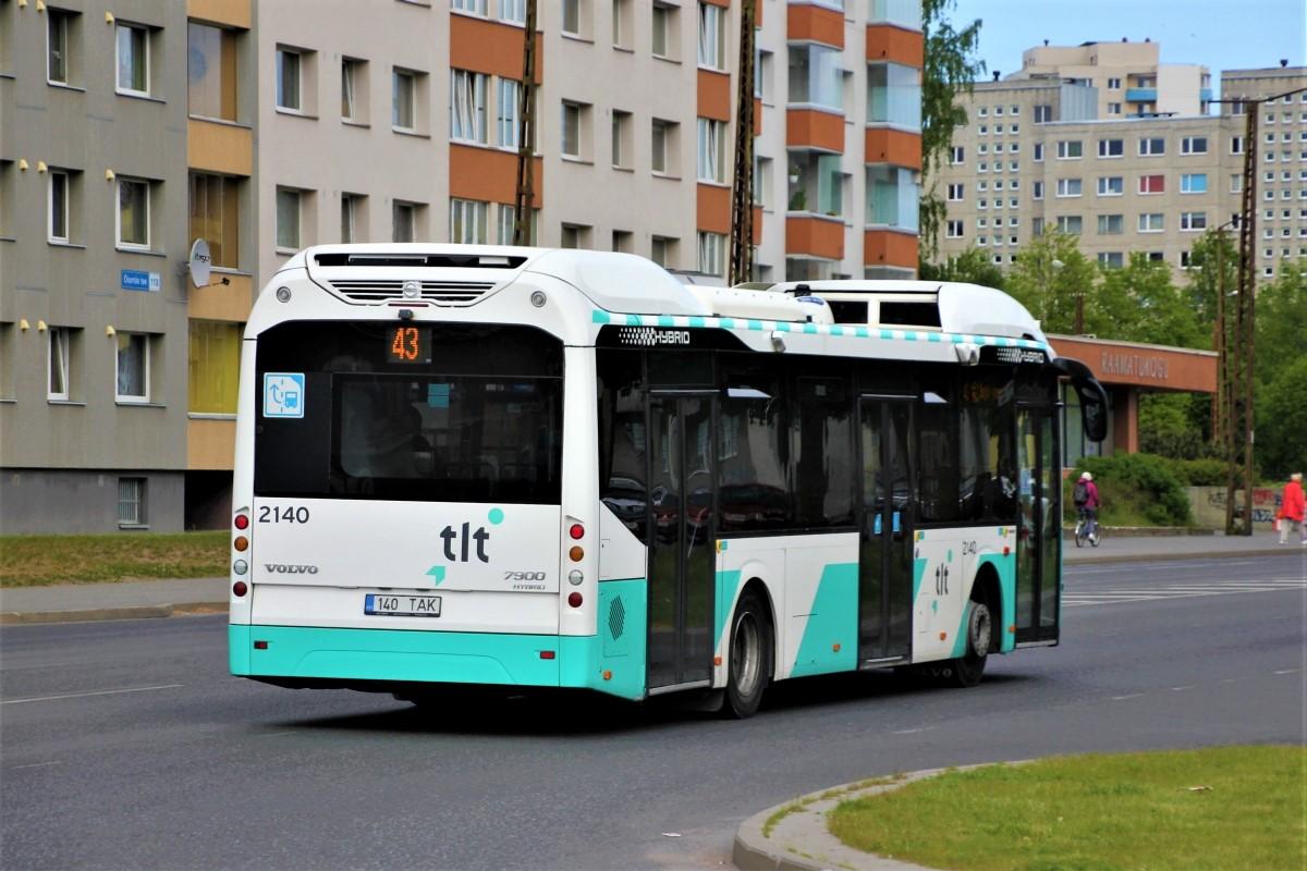 Tallinn, Volvo 7900 Hybrid № 2140