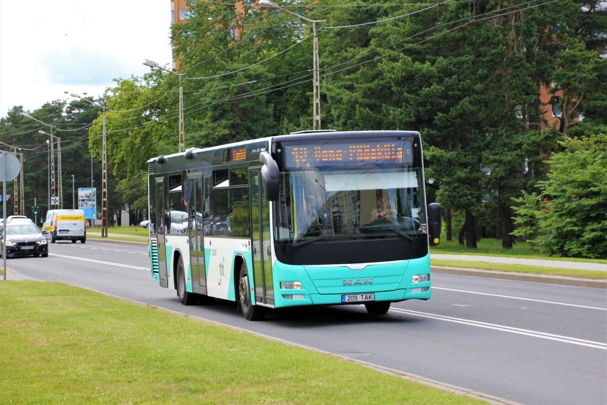 Tallinn, MAN A78 Lion's City LE EL293 № 2209