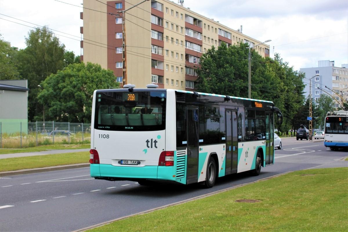 Tallinn, MAN A78 Lion's City LE EL293 № 1108