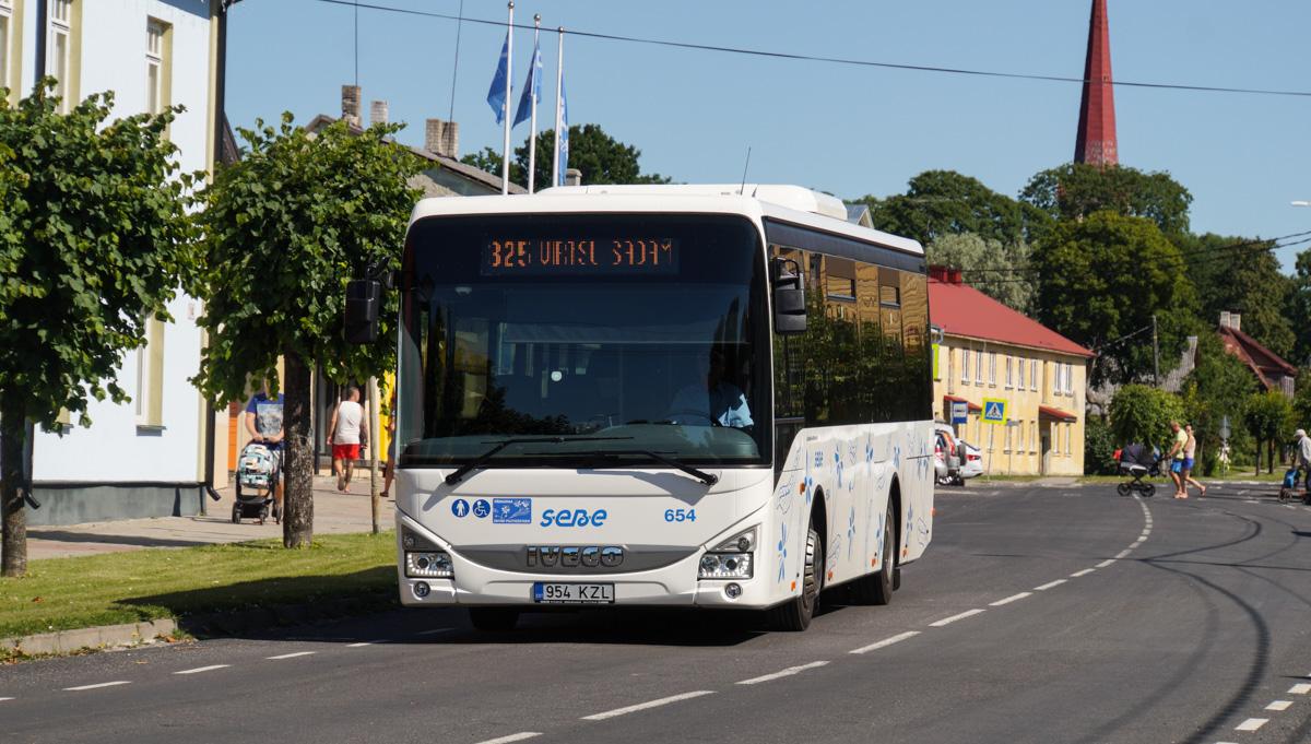 Pärnu, IVECO Crossway LE Line 10.8M № 654