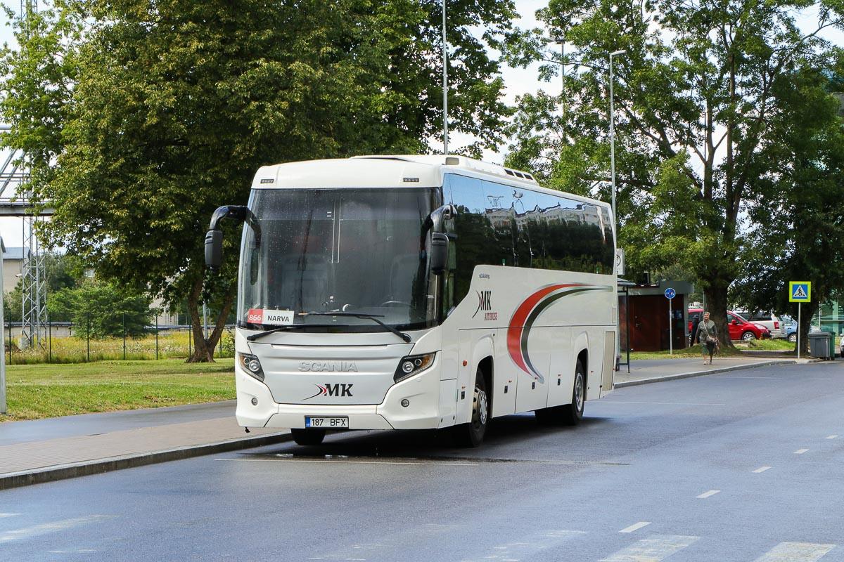 Tallinn, Scania Touring HD (Higer A80T) № 187 BFX
