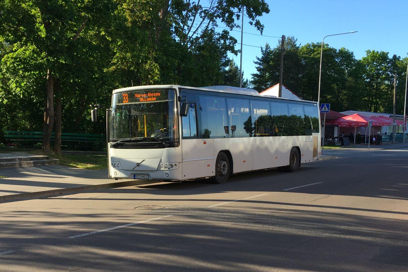 Narva, Volvo 8700LE № 572 MSZ