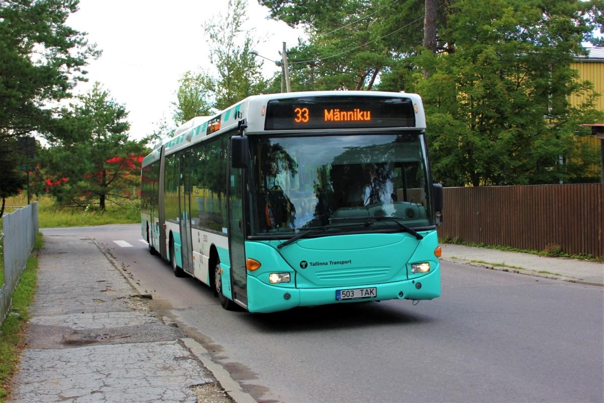Tallinn, Scania OmniLink CL94UA 6X2LB № 2503