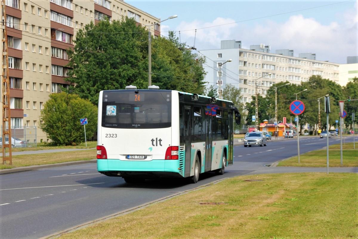 Tallinn, MAN A78 Lion's City LE EL293 № 2323
