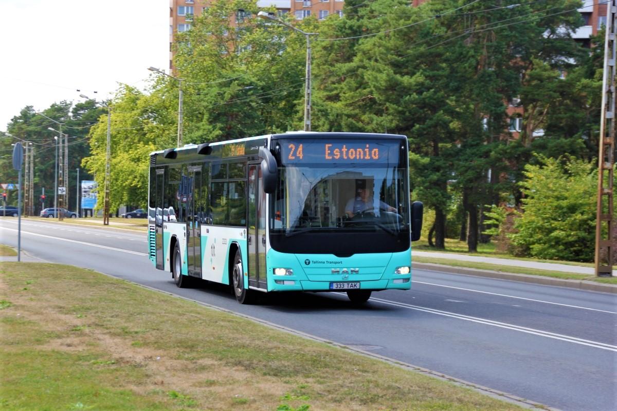 Tallinn, MAN A78 Lion's City LE EL293 № 2333