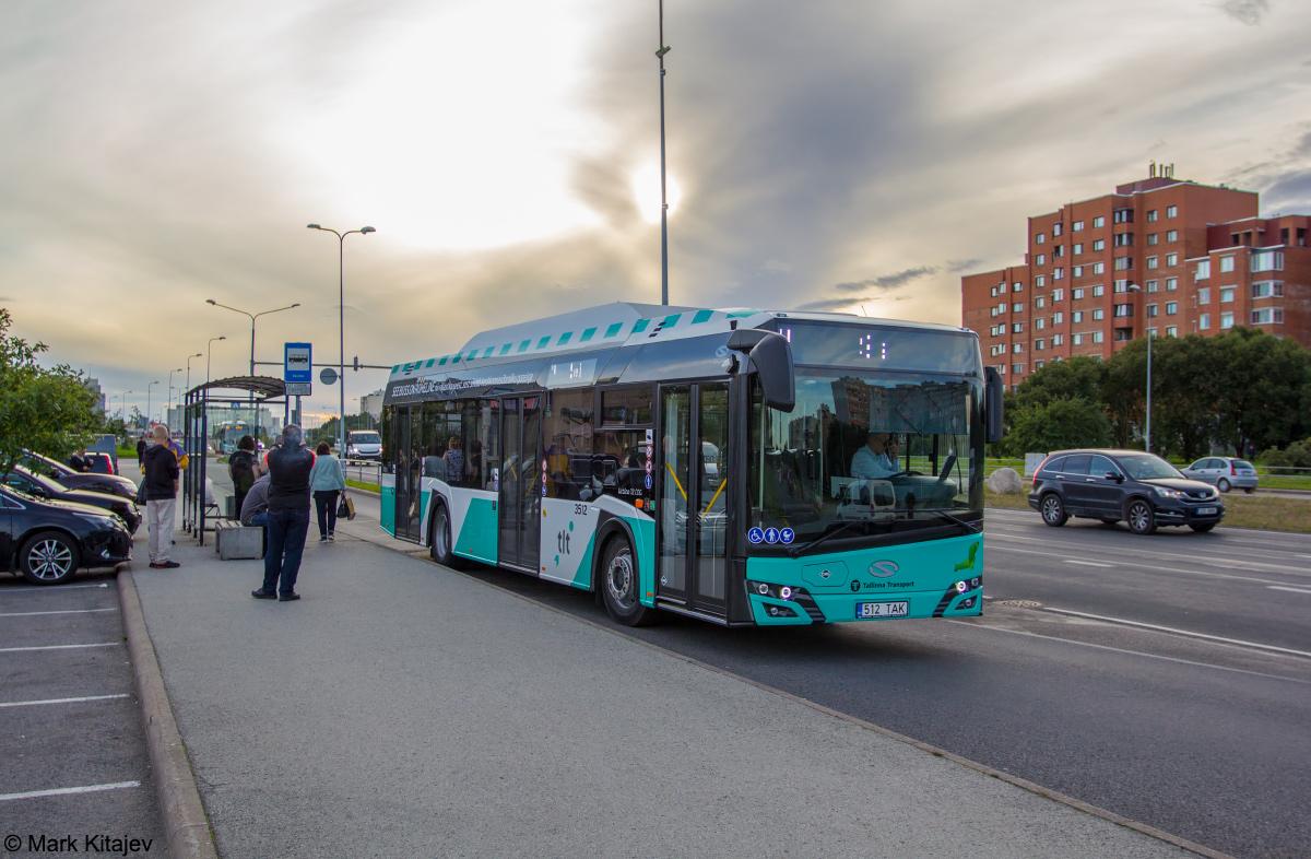 Tallinn, Solaris Urbino IV 12 CNG № 3512