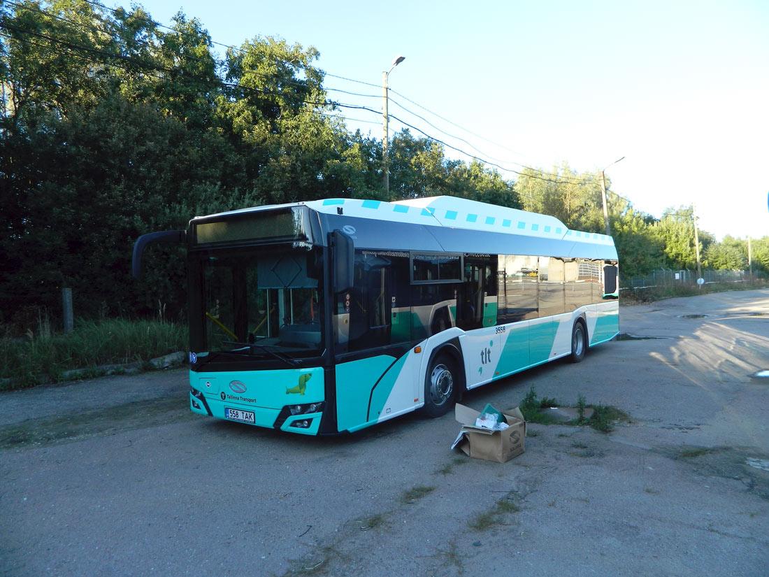 Tallinn, Solaris Urbino IV 12 CNG № 3558 Tallinn — Esimesed Solarise gaasibussid Tallinna Linnatranspordi AS-s