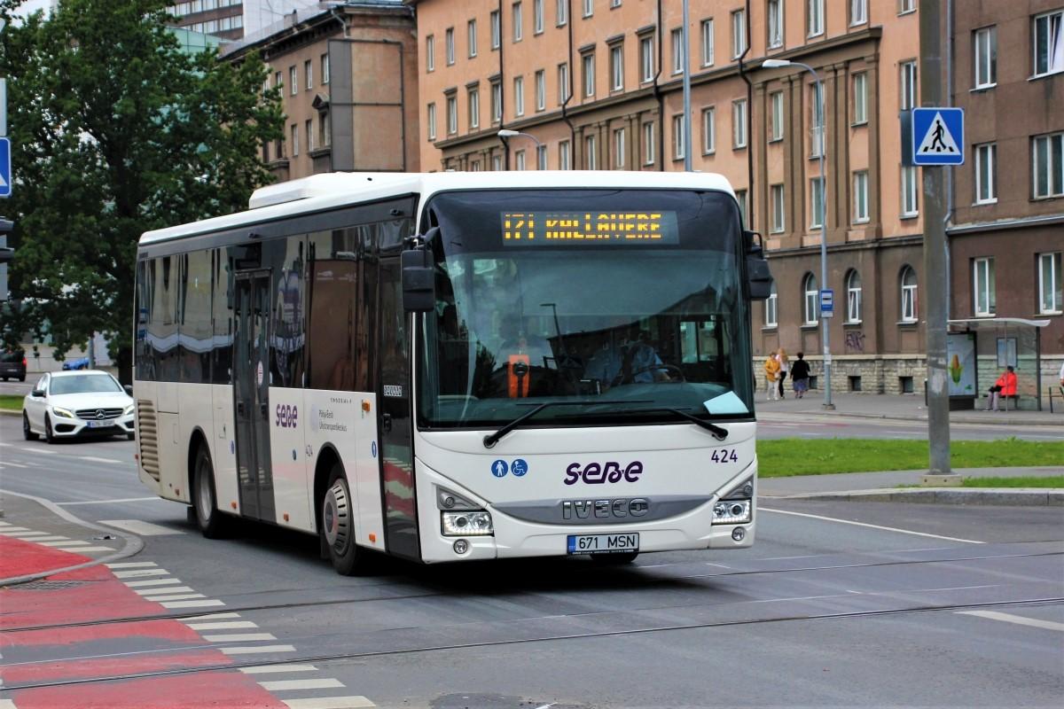 Tallinn, IVECO Crossway LE Line 10.8M № 424