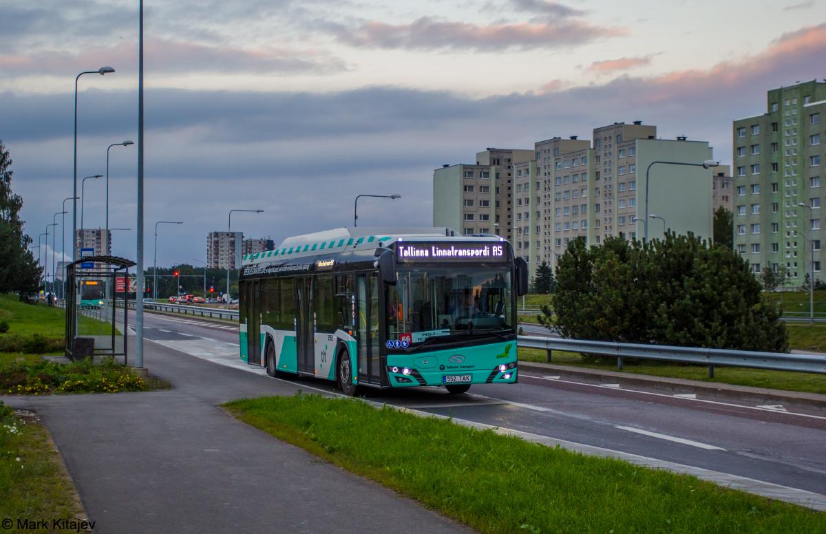 Tallinn, Solaris Urbino IV 12 CNG № 3552