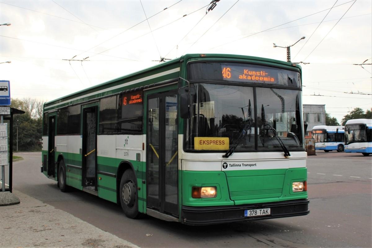 Tallinn, Duple Metsec T-56 City № 2378