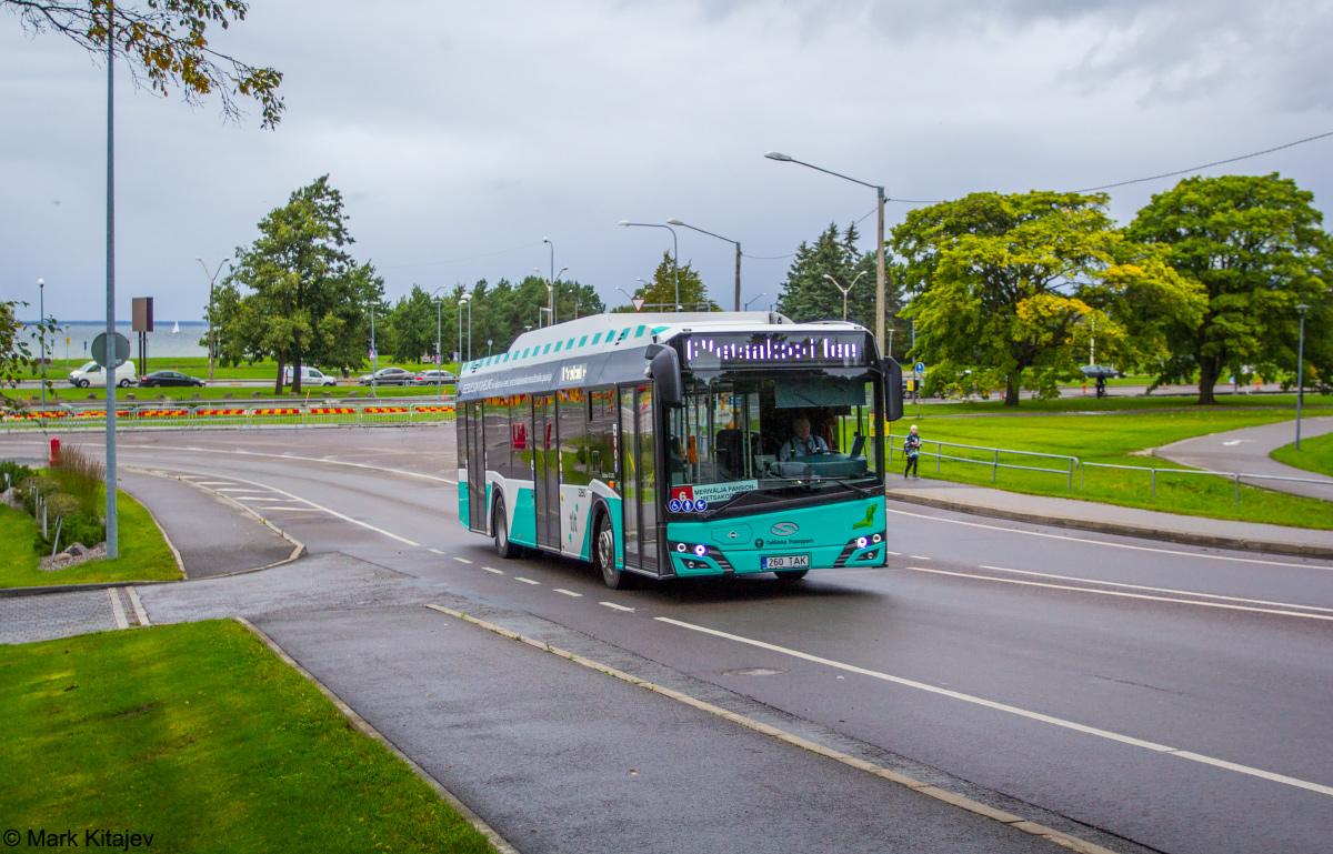 Tallinn, Solaris Urbino IV 12 CNG № 3260