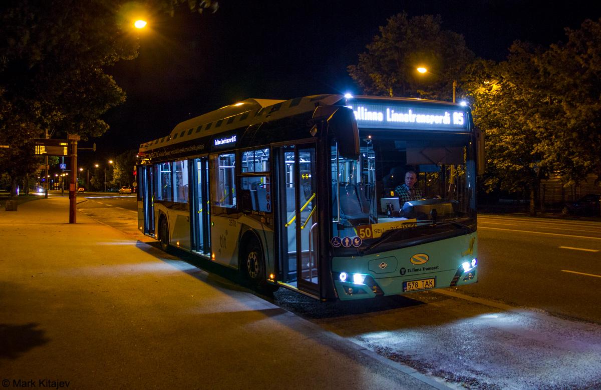 Tallinn, Solaris Urbino IV 12 CNG № 3578