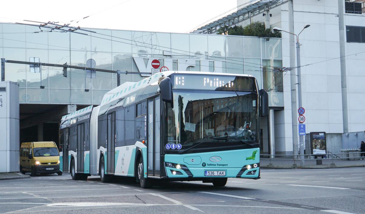 Tallinn, Solaris Urbino IV 18 CNG № 3536