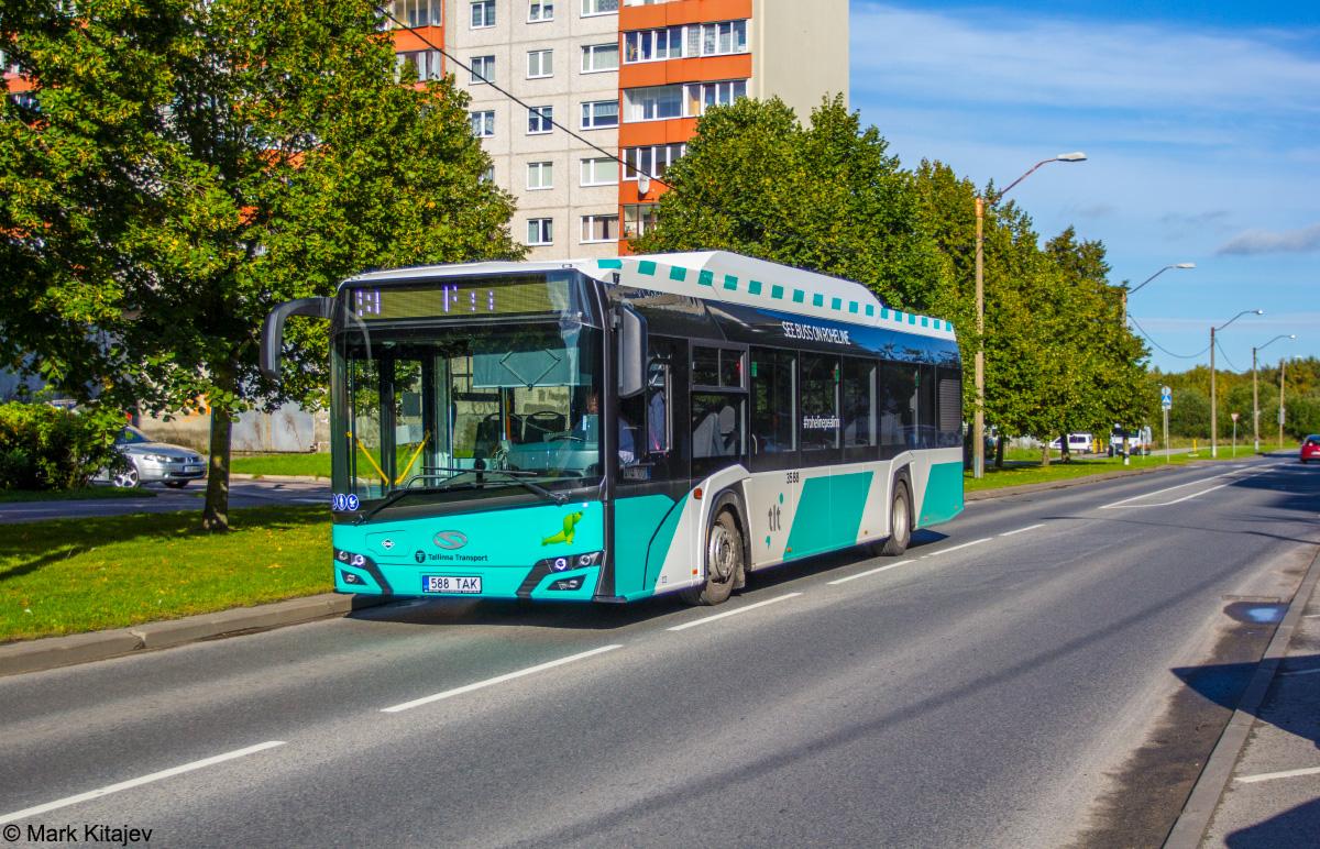 Tallinn, Solaris Urbino IV 12 CNG № 3588