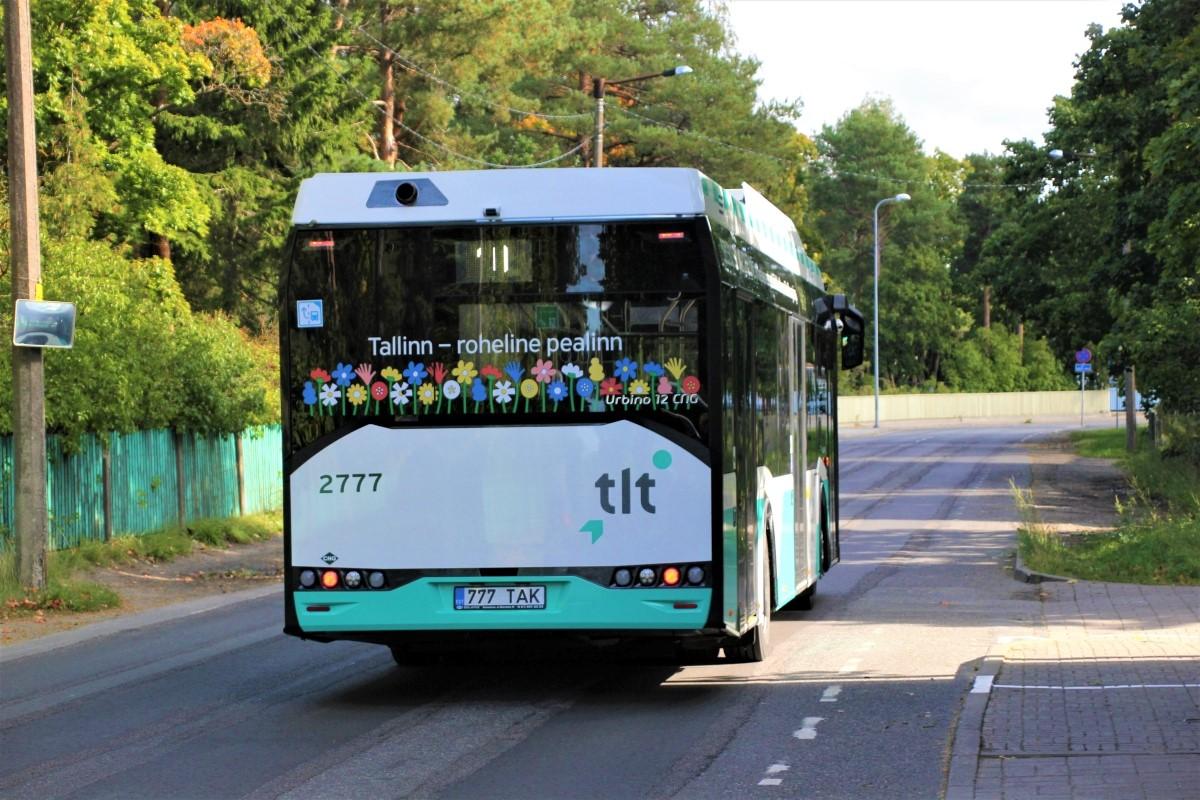 Tallinn, Solaris Urbino IV 12 CNG № 2777