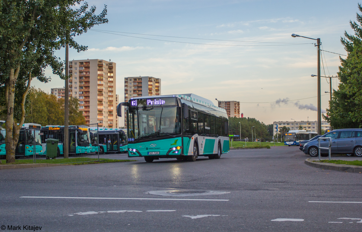 Tallinn, Solaris Urbino IV 12 CNG № 3521