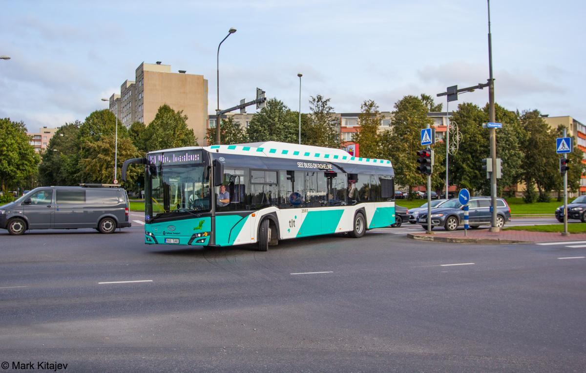 Tallinn, Solaris Urbino IV 12 CNG № 3593