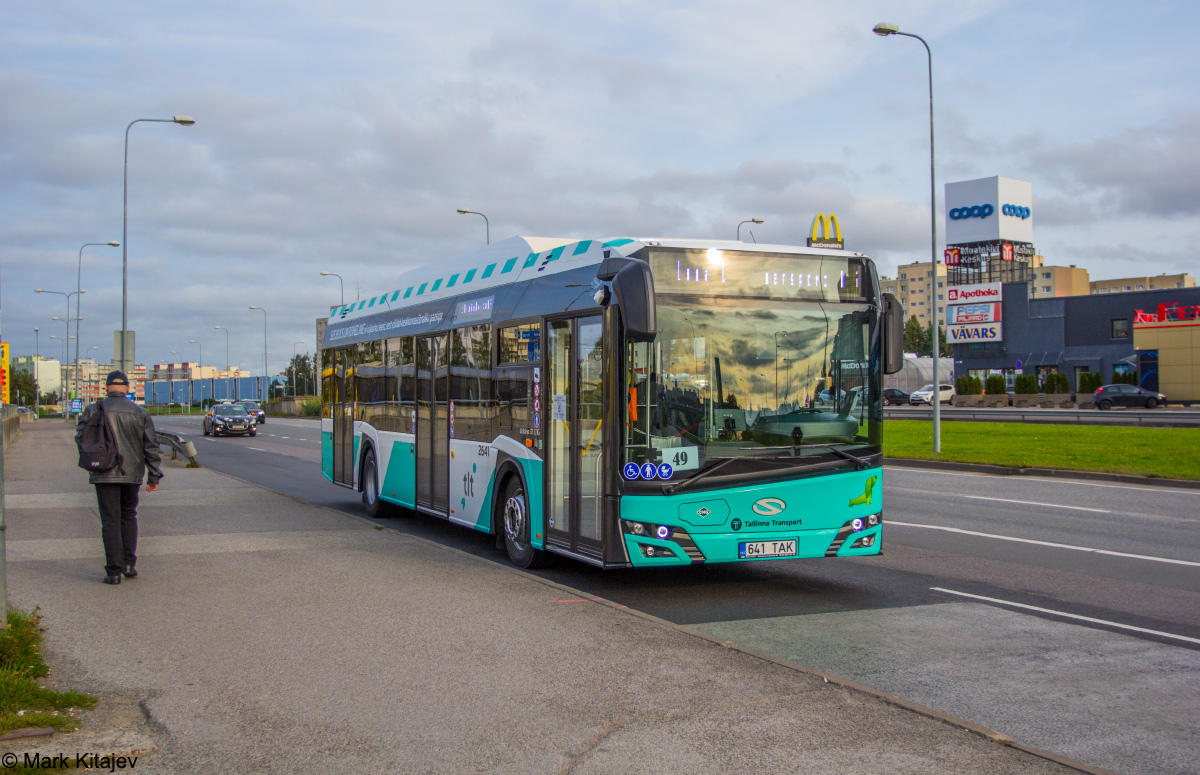 Tallinn, Solaris Urbino IV 12 CNG № 2641