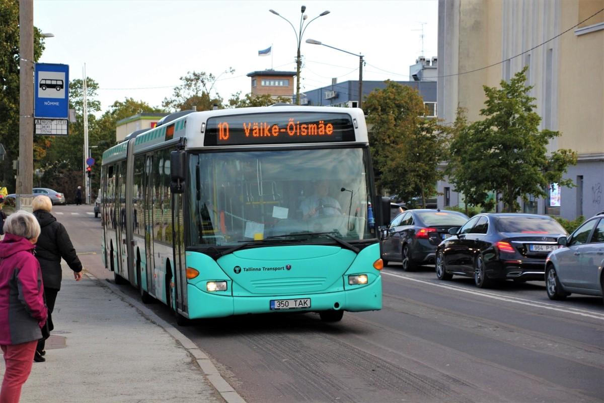 Tallinn, Scania OmniLink CL94UA 6X2LB № 2350