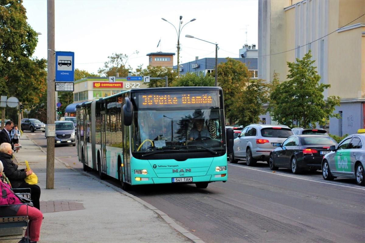 Tallinn, MAN A40 Lion's City GL NG323 № 3541