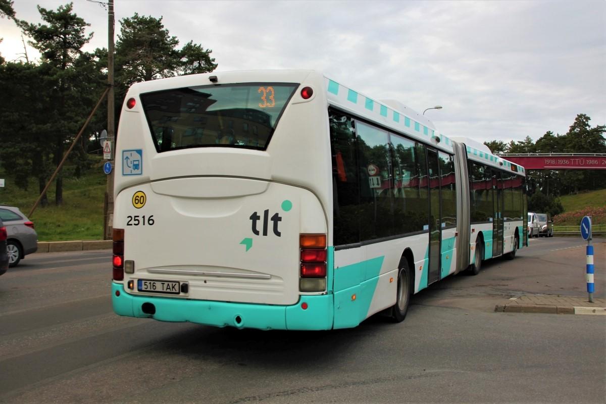 Tallinn, Scania OmniLink CL94UA 6X2LB № 2516