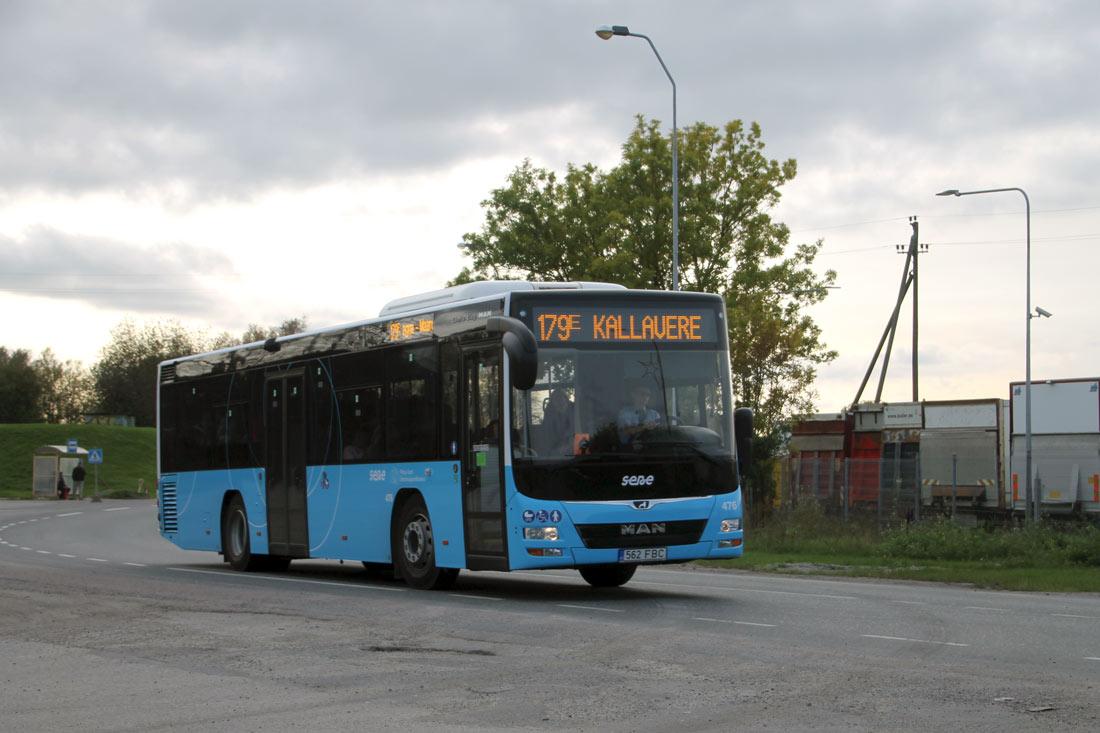Tallinn, MAN A78 Lion's City LE Ü EL293 № 476
