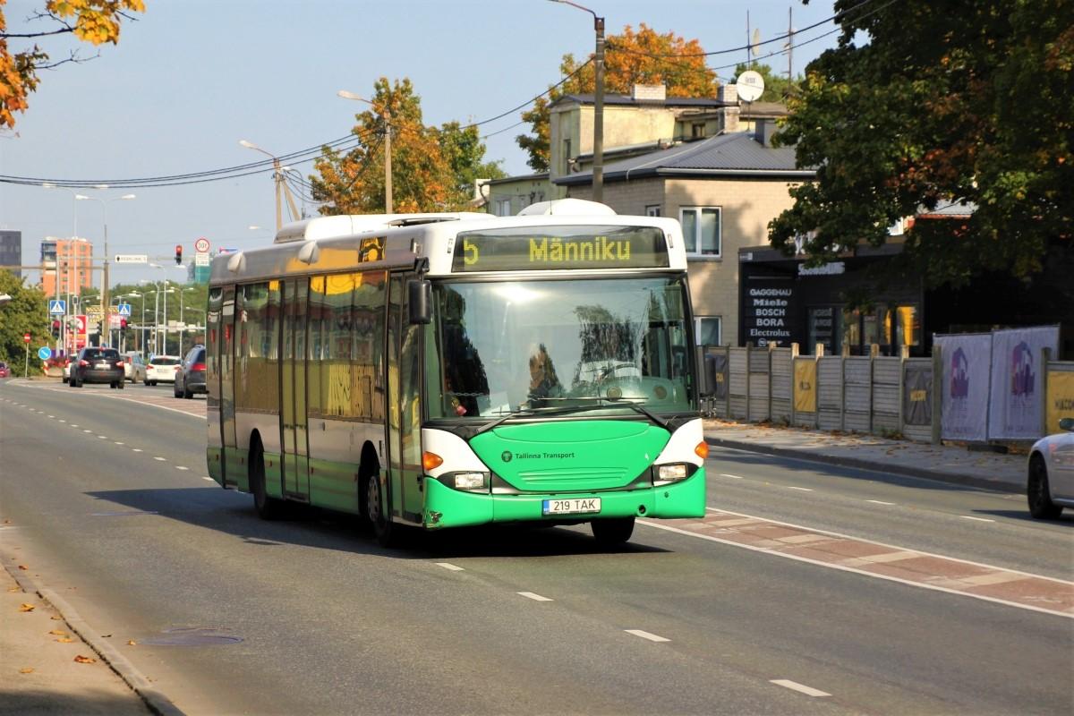 Tallinn, Scania OmniLink CL94UB № 2219