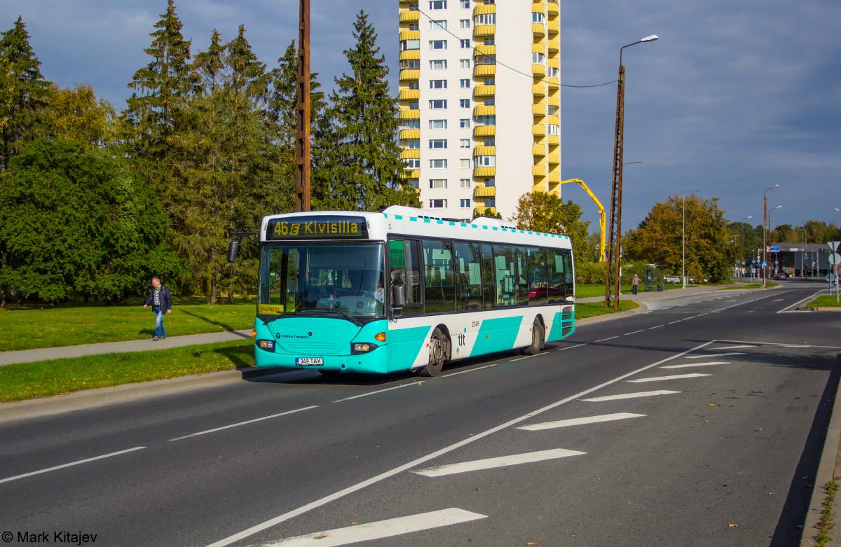 Tallinn, Scania OmniLink CL94UB № 2349