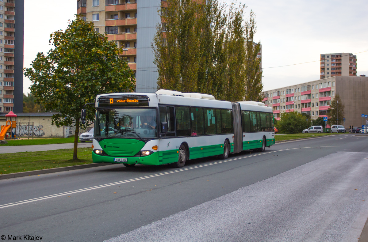 Tallinn, Scania OmniCity CN94UA 6X2 № 3401