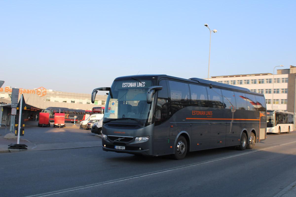 Tallinn, Volvo 9700HD UG № 129 MRY