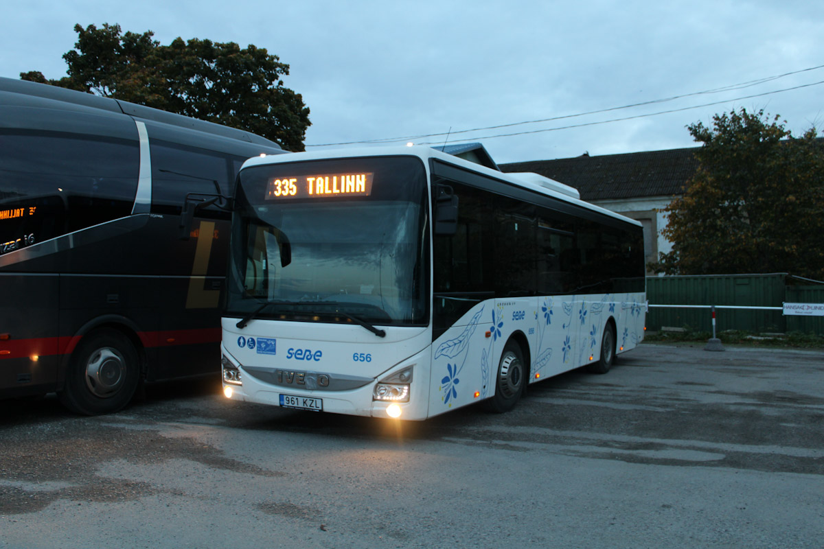 Pärnu, IVECO Crossway LE Line 10.8M № 656
