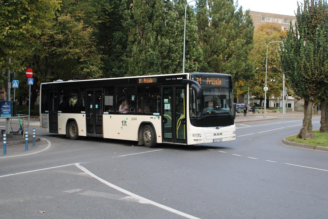 Tallinn, MAN A78 Lion's City LE EL293 № 3249