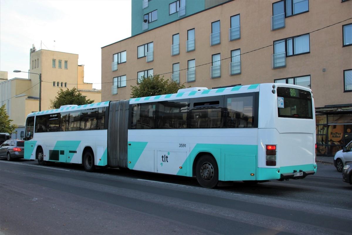 Tallinn, Volvo 8500 № 3591