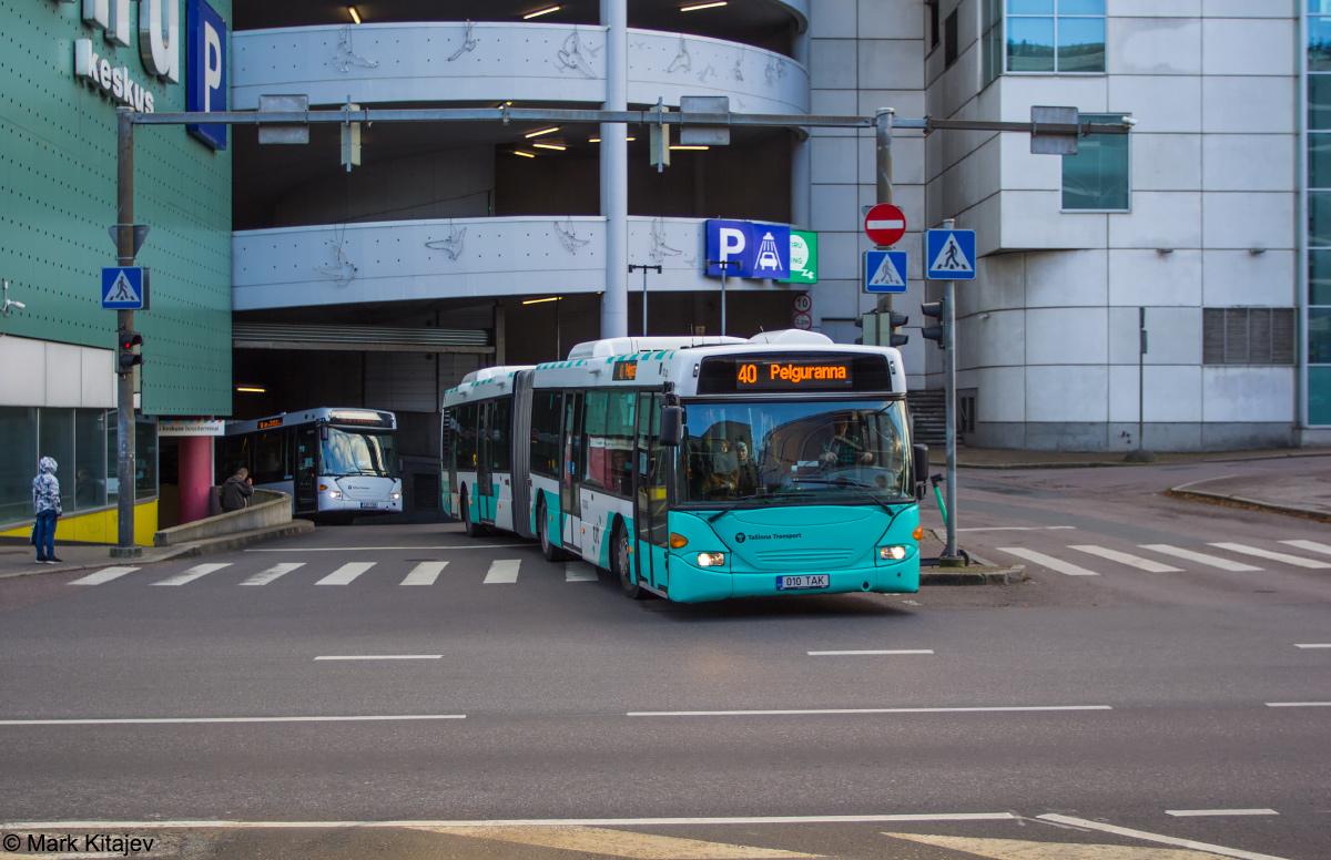 Tallinn, Scania OmniCity CN94UA 6X2 № 1010