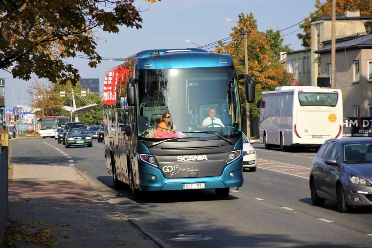 Tallinn, Scania Touring HD (Higer A80T) № 547 BTJ