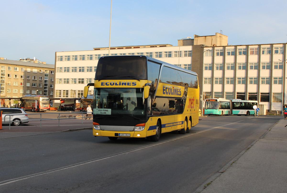 Tallinn, Setra S431DT № 323