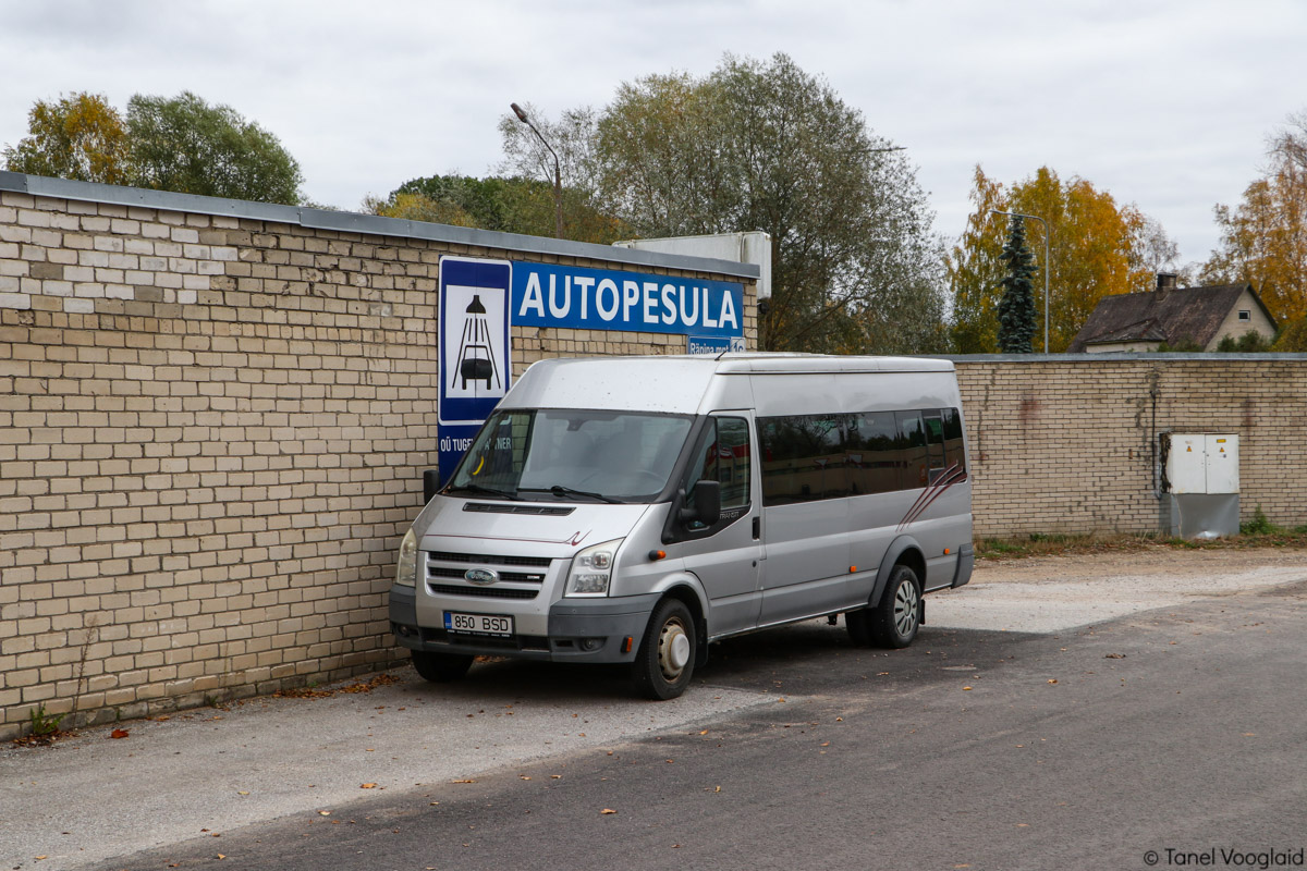 Võru, Ford Transit 430L EF Bus № 850 BSD