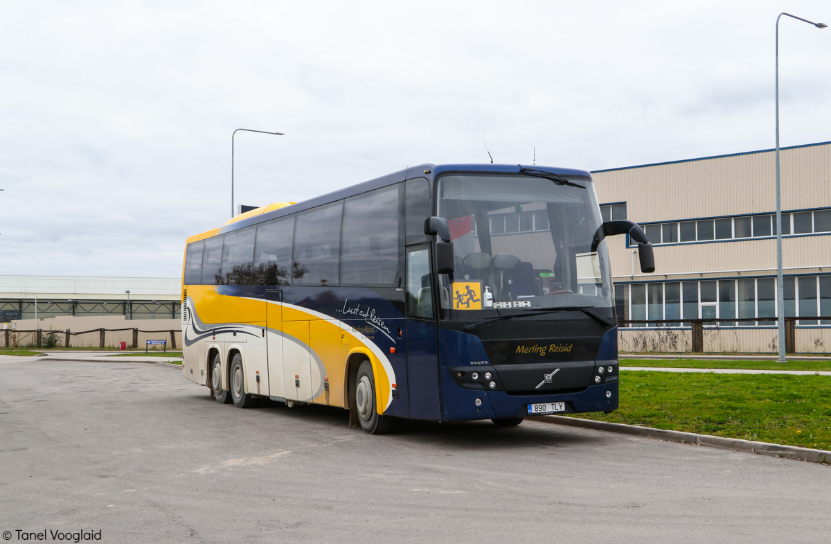 Võru, Volvo 9900 № 890 TLY