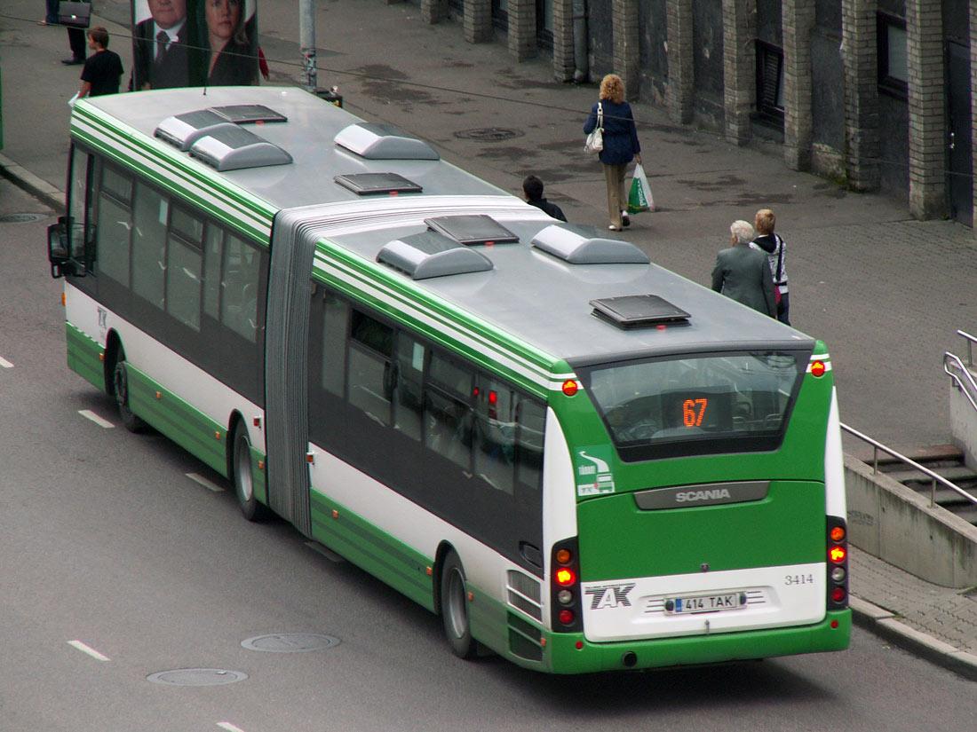 Tallinn, Scania OmniLink CK310UA 6X2LB № 3414