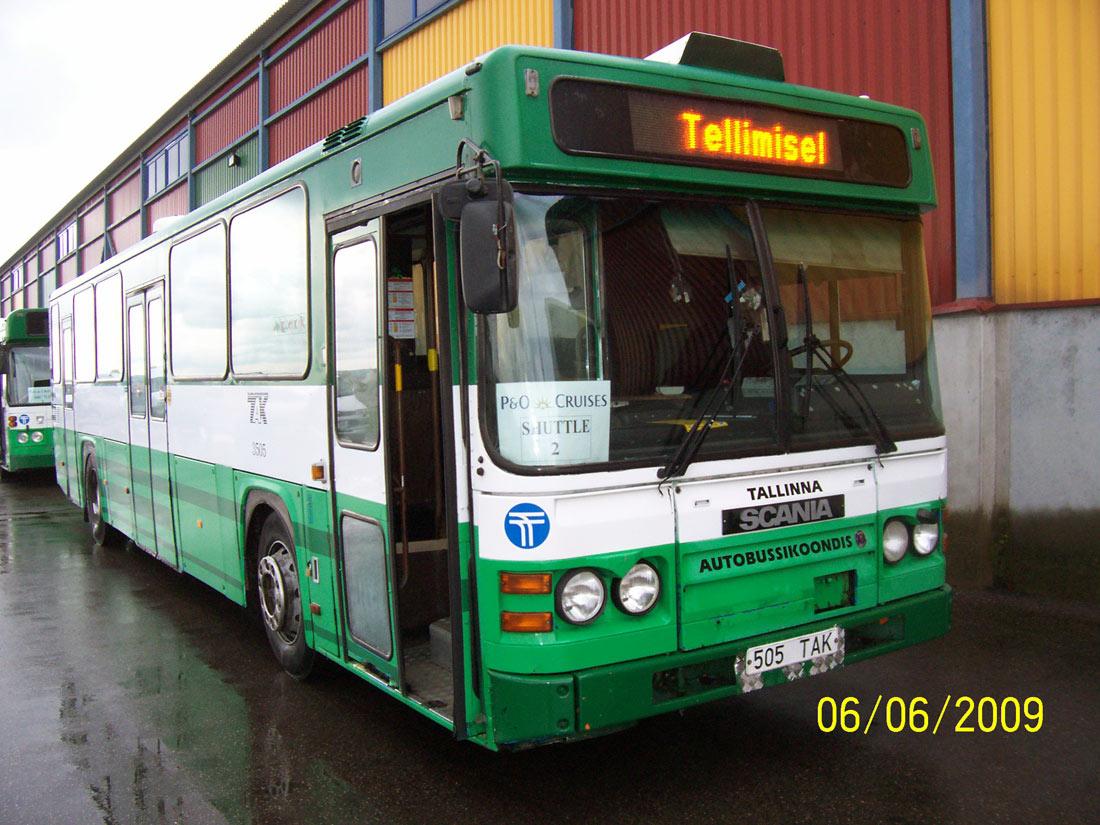 Tallinn, Scania CN113CLB № 3505