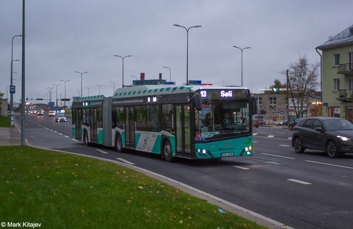 Tallinn, Solaris Urbino IV 18 CNG № 2519